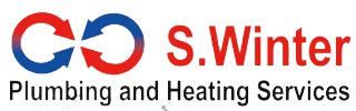 S. Winter Plumbing and Heating Services Logo